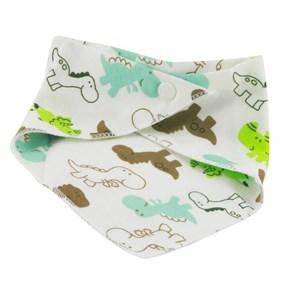 Imagen de Babero bandana de tela, con broches, varios diseños