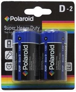Imagen de Pilas POLAROID, D x2 en blister, caja x12