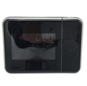 Imagen de Despertador digital con proyector de hora, termómetro, 2AAA, en caja