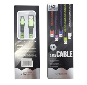 Imagen de Cable USB, en caja, varios colores