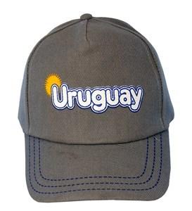 "Imagen de Gorro visera bordado ""Uruguay"" para adulto"