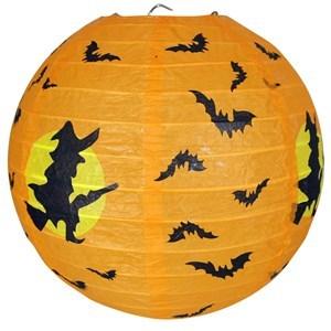 Imagen de Adorno globo de papel con diseño de halloween