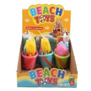 Imagen de Juego de playa, balde, 5 piezas en red, CAJA x9