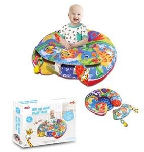 Imagen de Almohadón silla de contención, con accesorios, para bebé, en caja