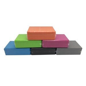 Imagen de Bloque ladrillo de goma EVA, para gimnasia, pilates yoga, 120g, varios colores