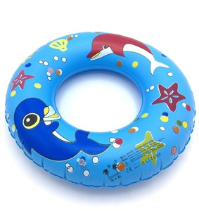 Imagen de Inflable flotador salvavidas, redondo, en bolsa, varios diseños