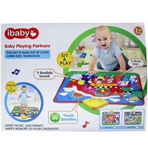 Imagen de Alfombra para bebé, con sonidos de animales, con luz, 3AA, en caja