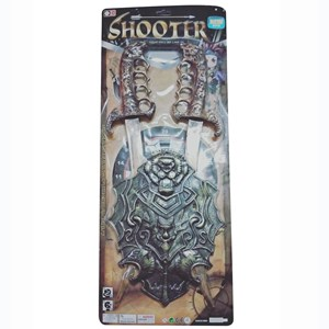 Imagen de Escudo y espada x2, en cartón