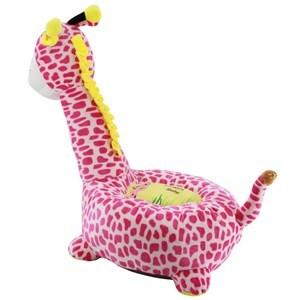 Imagen de Almohadón sofá infantil, jirafa de peluche