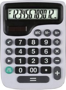 Imagen de Calculadora de mesa KENKO, 12 dígitos, display grande, solar y 1AA, en caja