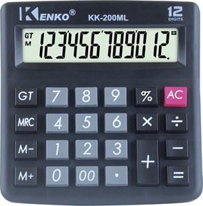 Imagen de Calculadora de mesa KENKO, 12 dígitos, display grande, en caja