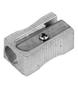 Imagen de Sacapuntas de metal x24, rectangular, en caja