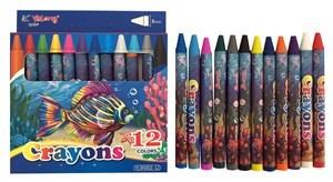 Imagen de Crayolas finas 12 colores, en caja, YALONG