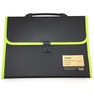 Imagen de Carpeta PVC portafolio, con 12 separadores