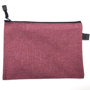 Imagen de Sobre PVC símil tela con cierre, A5, PACK x12, varios colores