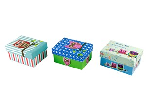 Imagen de Cajas forradas, varios diseños, pack x6