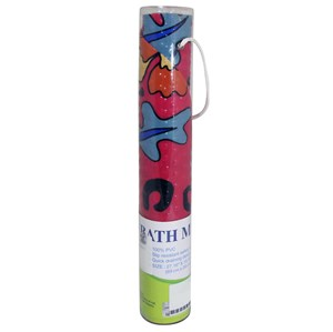 Imagen de Alfombra para baño PVC, con ventosas, en tubo de mica, varios diseños