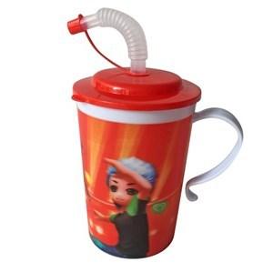 Imagen de Vasorbito taza de plástico, con tapa