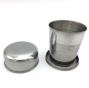 Imagen de Vaso telescópico de acero inoxidable, en caja
