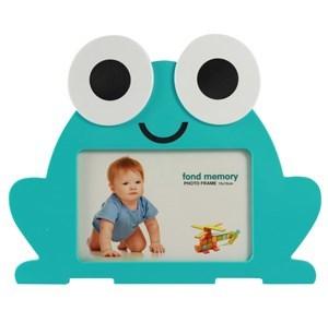 Imagen de Portarretrato infantil, en caja, rojo verde y celeste