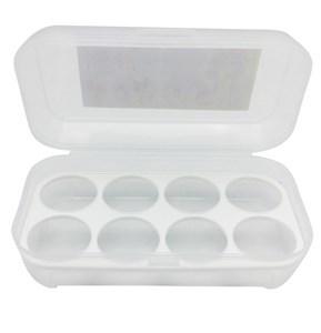 Imagen de Huevera de plástico con tapa, para 8 huevos