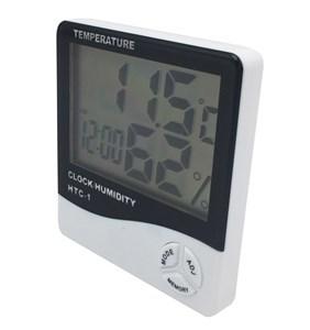 Imagen de Termómetro digital, con hidrómetro y reloj, 1AAA, en blister