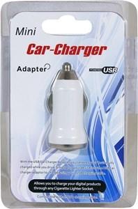 Imagen de Cargador USB para auto, en blister