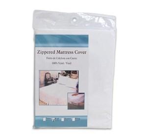 Imagen de Cubre colchón, cama twin, con cierre, en bolsa