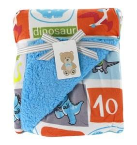 Imagen de Frazada reversible de microfibra, para bebé, varios diseños