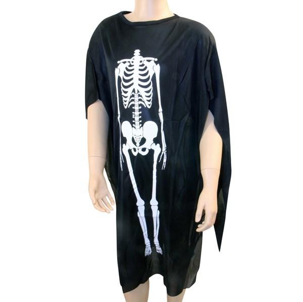 Imagen de Disfraz de calavera, túnica larga, en bolsa