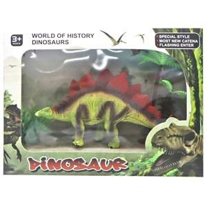 Imagen de Dinosaurio, con accesorios, en caja