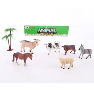 Imagen de Animales x6, de granja, en bolsa