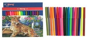 Imagen de Marcadores finos 18 colores, en caja, YALONG
