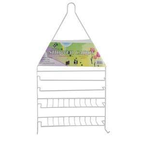 Imagen de Organizador de metal revestido en plástico, 2 estantes, para colgar