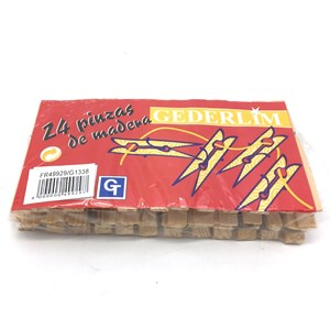 Imagen de Palillos de madera x24, en bolsa