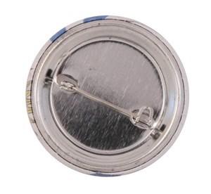 Imagen de Pin con prendedor 37 mm personalizable, de metal