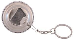 Imagen de Llavero destapador 44 mm personalizable, con base, cadena y aro de metal