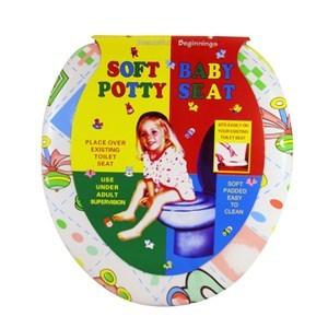 Imagen de Tapa para WC reductora acolchonada, varios diseños