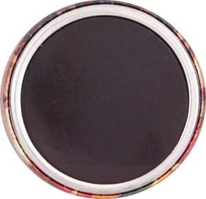 Imagen de Imán con goma 44 mm personalizable, base de metal con imán de goma