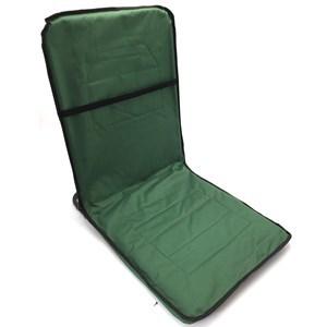 Imagen de Silla reposera plegable para suelo, con bolsillo exterior, en funda con cierre