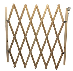 Imagen de Cerco de madera cierre extensible, para interior o exterior