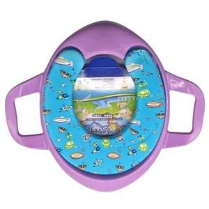 Imagen de Tapa para WC reductora acolchonada con agarraderas, varios diseños infantiles