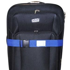 Imagen de Cinturón de seguridad para valijas, con tarjeta de indentificación, en PVC