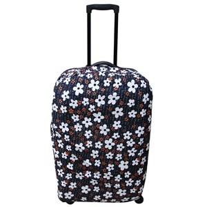 Imagen de Funda para valijas, poliéster y spandex, cierre con velcro y cinta ajustable, ideal para proteger e identificarlas fácilmente, varios diseños