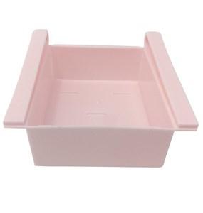 Imagen de Cajón de plástico con soporte para enganchar en estantes,  para heladera o mesa, ayudan a aprovechar el espacio, varios colores