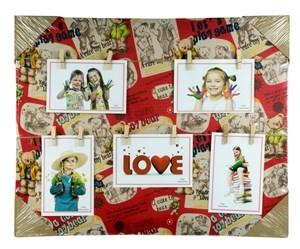 Imagen de Portarretrato para 5 fotos, con 10 palillos