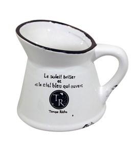 Imagen de Jarra de loza, caja x6, ideal para arreglos florales, souvenirs