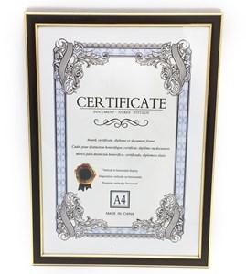 Imagen de Marco para diploma A4, marco combinado