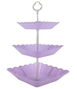 Imagen de Soporte para cupcakes de plástico, en caja, varios colores