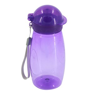 Imagen de Botella deportiva pico pull push con tapa, con correa, 500ml, varios colores